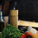 Arugula Crostini Ingredients