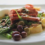 Seared Tuna Nicoise Salad