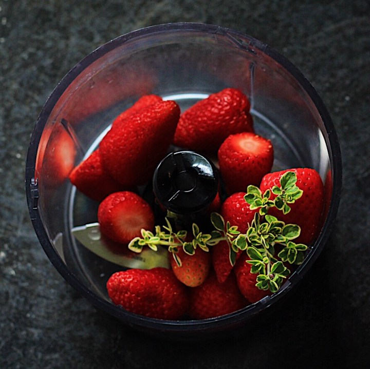 Strawberries and Thyme