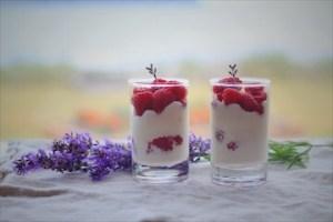 Raspberry Parfaits