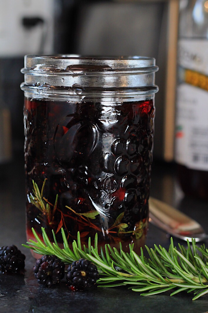 Pickled Blackberries (No Canning Required!)