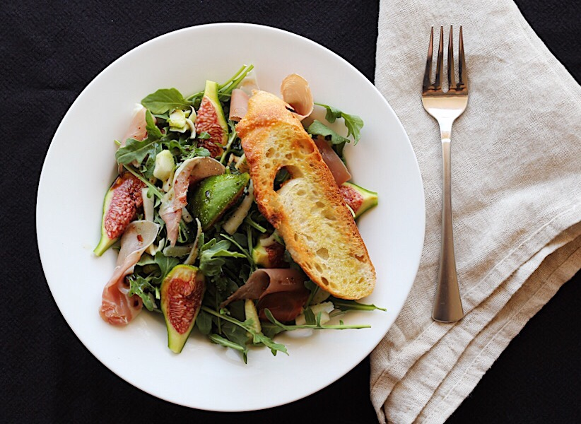 Fig Salad with Fennel and Prosciutto-Fast, Fresh+Easy
