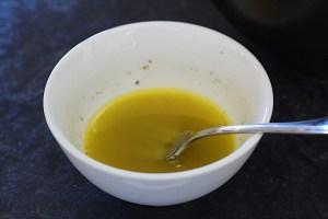 Lemon Dressing for Zucchini Salad