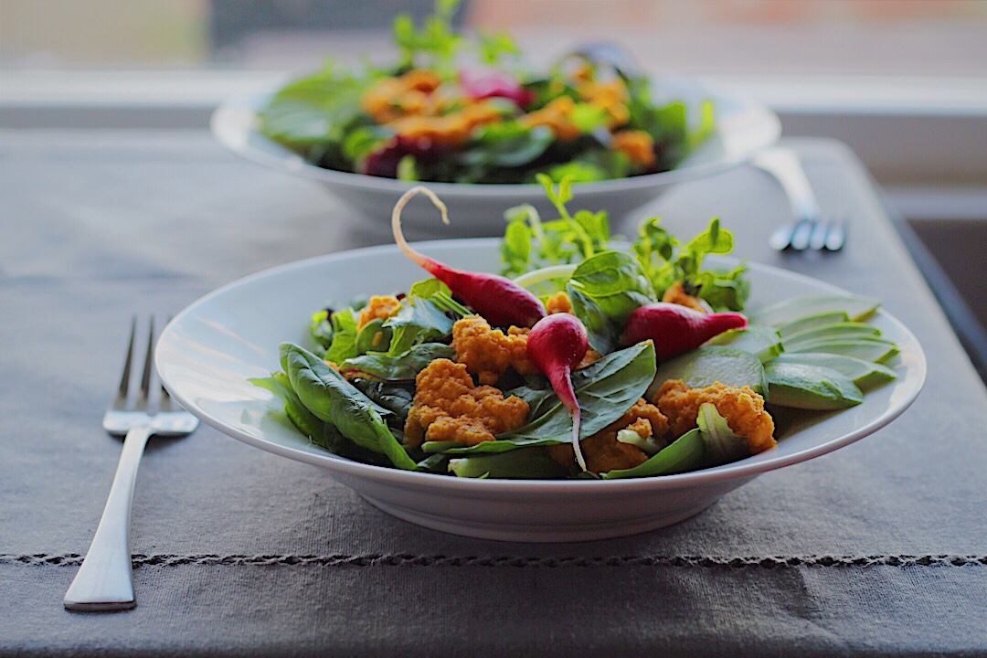 Carrot Apple Ginger Salad Dressing