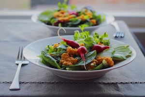 Healthy Clean Eating Whole Foods Salad