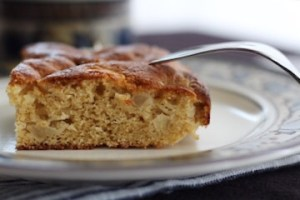 Cardamom Apple Cake