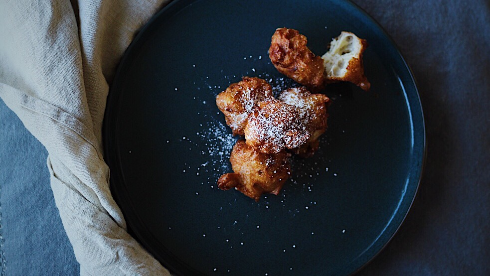 French Apple Beignets (Apple Fritters)