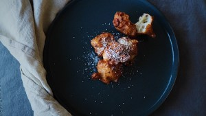 French Apple Beignets