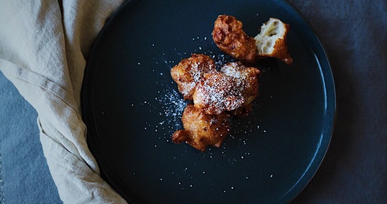 Fall(en) Apples And Easy Apple Beignets
