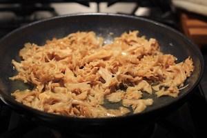 Cooking Cauliflower Mushrooms