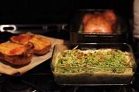 Easy Vegetarian Cauliflower Mushroom Gratin
