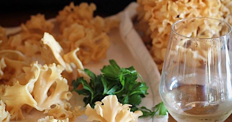 Cauliflower Mushrooms And Wild Mushroom Gratin