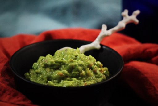 Fresh Guacamole With Real Ingredients