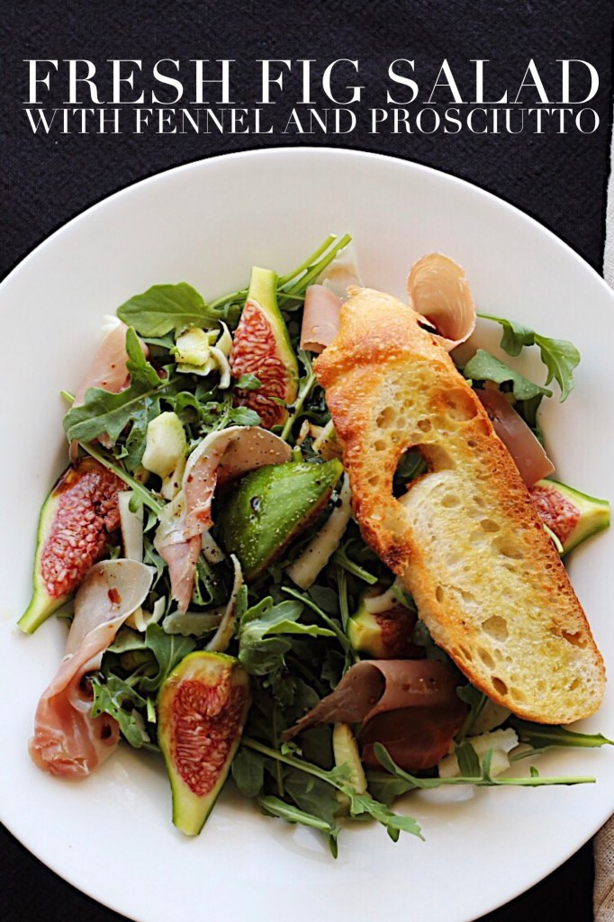 Fig, Fennel And Prosciutto Salad