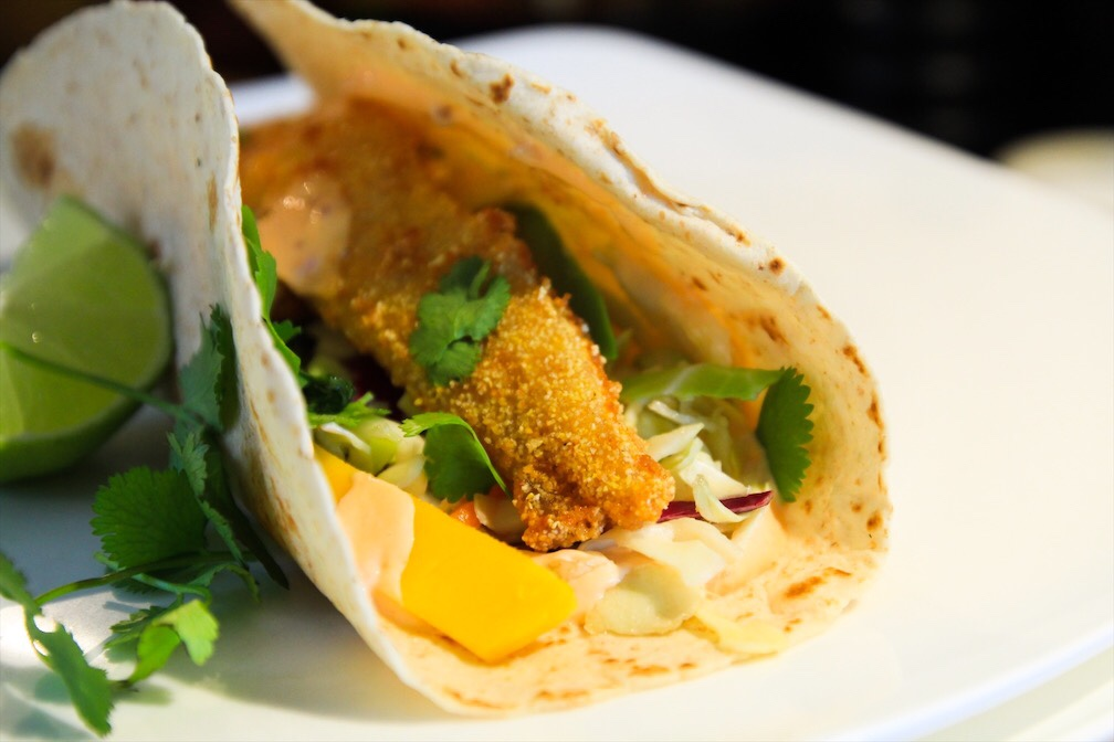 Fish Tacos With BC Cod
