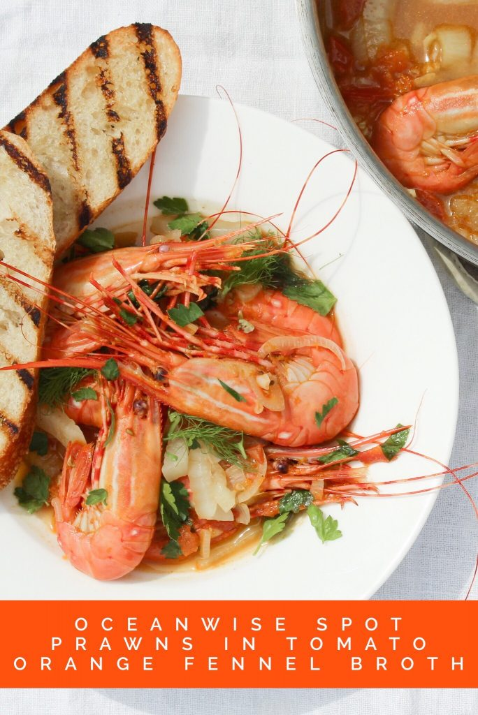 West Coast Shrimp In Tomato Orange And Fennel Broth Fresh Easy Recipe