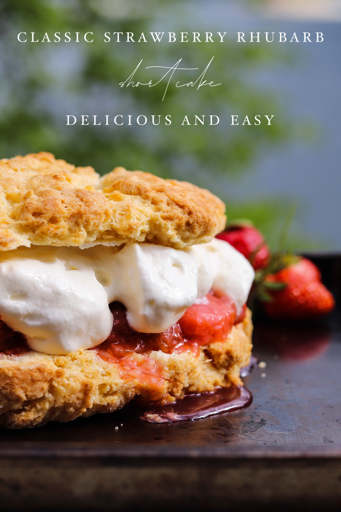 Best Easy Summer Shortcake With Strawberries And Rhubarb
