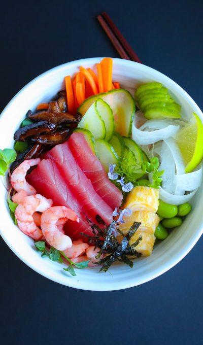 Chirashi Sushi Bowl (aka Superfood Bowl)
