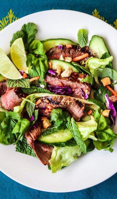 Thai Flank Steak Salad