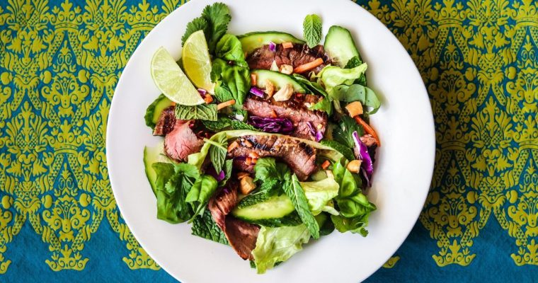 Thai Flank Steak Salad
