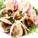 Fresh BC Wild Scallops In Vongole Sauce Recipe
