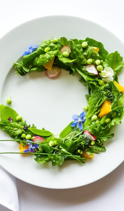 Garden Salad With Orange Vinaigrette