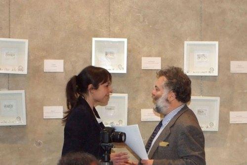 """Sabrina D'Alessandro, Jean Blanchaert, """"Asta di parole"""", Basilica di Sant'Ambrogio, Milano 2014, URPS, Ufficio Resurrezione Parole Smarrite"""
