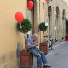 """Sabrina D'Alessandro, """"Riboboli Rimpedalati"""", Installazione paesaggistica, San Sepolcro, Arezzo 2012"""