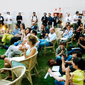 """Sabrina D'Alessandro, """"Dipartimento Rinascita Psicovocale"""", Mediateca di Santa Teresa, Milano, 2011, URPS, Ufficio Resurrezione Parole Smarrite"""