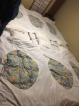 卡通出現的榻榻米床