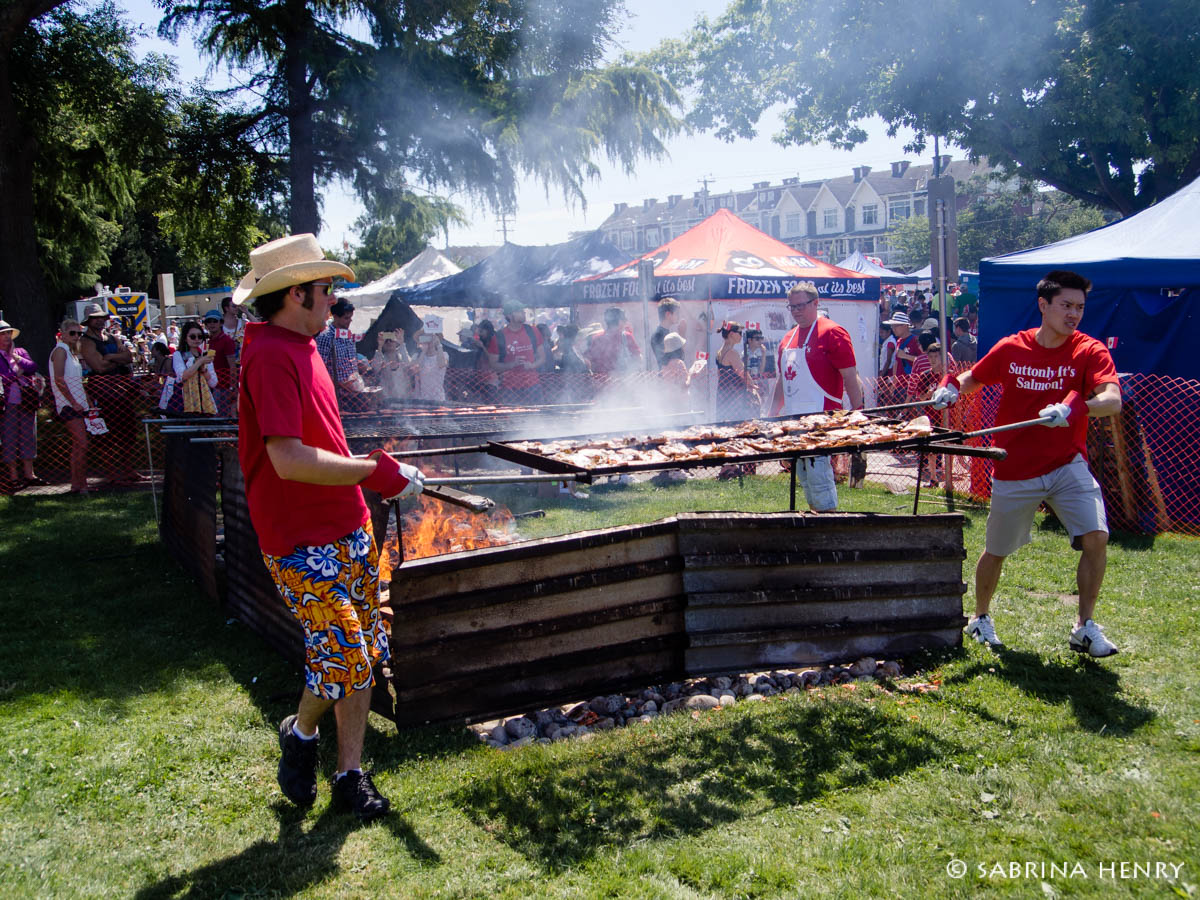 Canada Day Steveston July 2014
