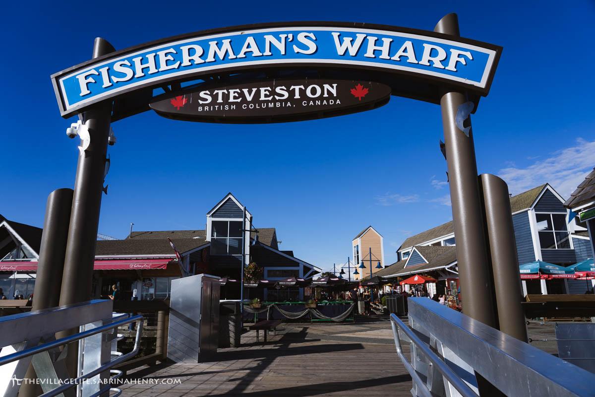 fisherman's wharf steveston richmond bc 2018