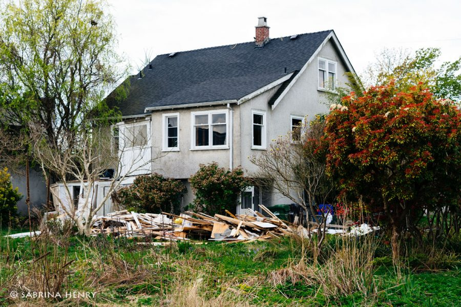 Demolition of Kay Sakata's house in Steveston