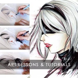 Art Lessons & Tutorials