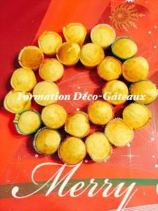 couronne de cupcakes