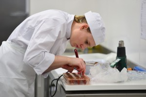 Mikaela Wright- Patisserie and Confectionery Team UK Selection WorldSkills Sao Paulo 2015