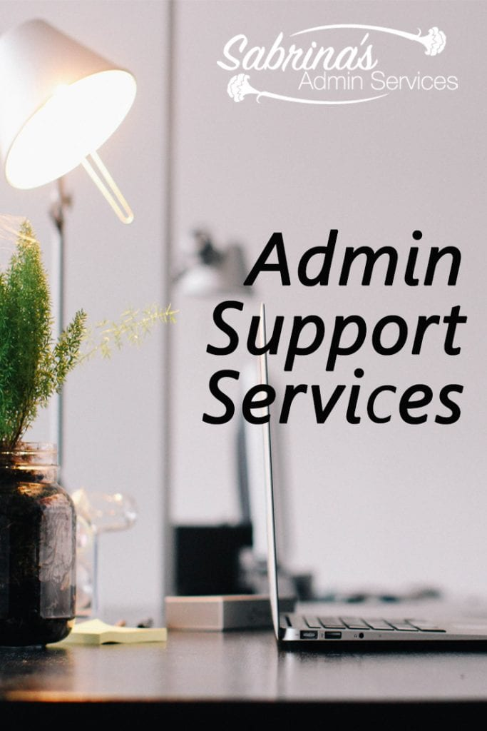 Administrative Support Services Sabrina S Admin Services