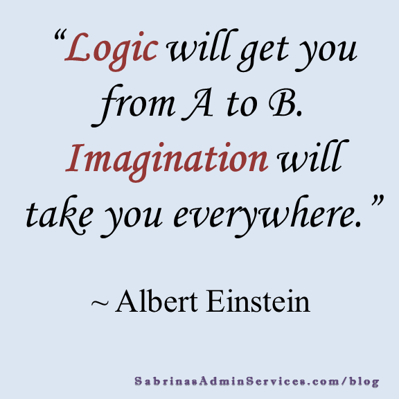 Logic will get you from A to B.