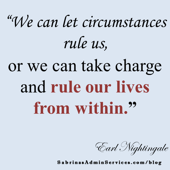 rule our lives from within
