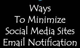 minimize social media notifications
