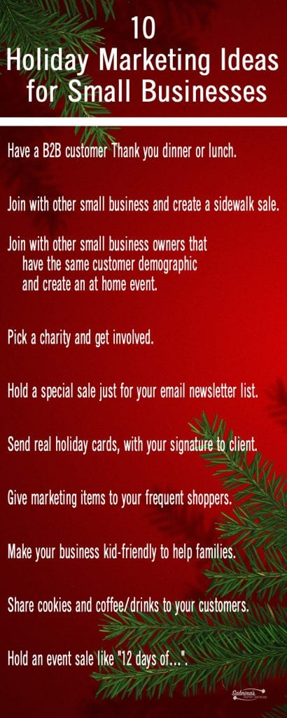 10 Holiday Marketing Ideas for Small Businesses