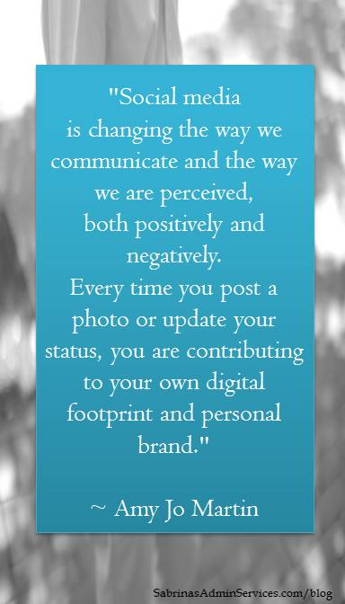 Social media is changing the way we communicate...