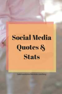 Social Media Quotes And Stats | Sabrina's Admin Services #social #media #quotes #stats