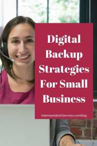 Digital Backup Strategies For Small Business | Sabrina's Admin Services #digital #backup #strategies