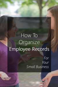How To Organize Employee Records