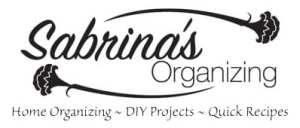Sabrina's Organizing Blog