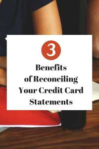 3 benefits of reconciling your credit card statements