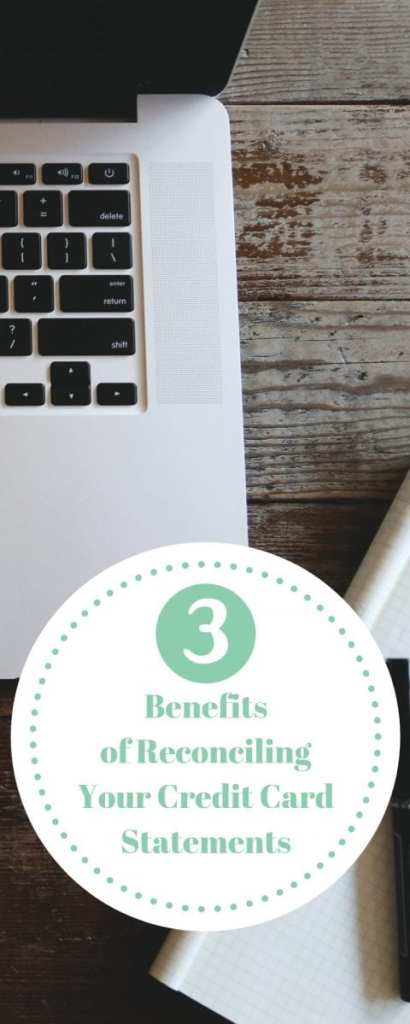 3 benefits of reconciling your credit card statements for your small business