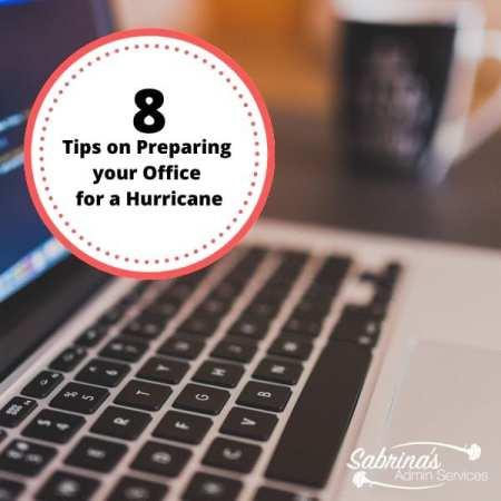 8 Tips on Preparing your Office for a Hurricane