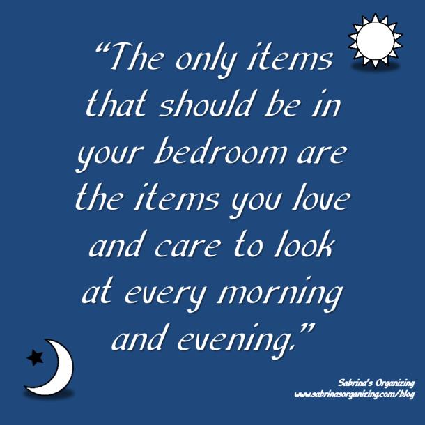 bedroom, organizing